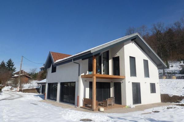 Construction Maison ossature bois-Annecy